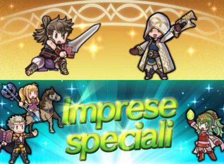 Fire Emblem Heroes: ora disponibile l'evento Eroiche Gesta! e le imprese dei tre eroi