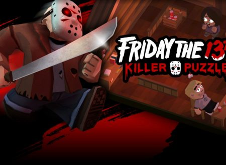 Friday the 13th: Killer Puzzle, pubblicato il trailer di lancio del titolo su Nintendo Switch