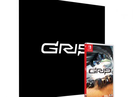 GRIP: rivelati i brani e i contenuti presenti nella Collector's Edition del titolo per Nintendo Switch