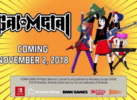 Gal Metal: il titolo è in arrivo il 2 novembre sui Nintendo Switch europei