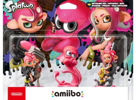 Gli amiibo degli Octolings di Splatoon 2 sono ora in preorder sul Nintendo UK Store