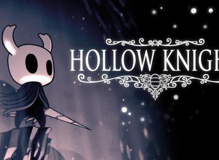 Hollow Knight: il titolo ora aggiornato alla versione 1.4.3.2 sui Nintendo Switch europei