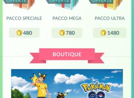 Pokèmon GO: nuovi pacchi speciali sono ora disponibili nel titolo mobile