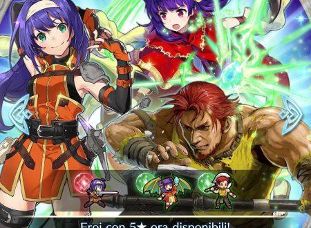Fire Emblem Heroes: disponibile la preferenza evocazione: prove tempesta+: Volti familiari