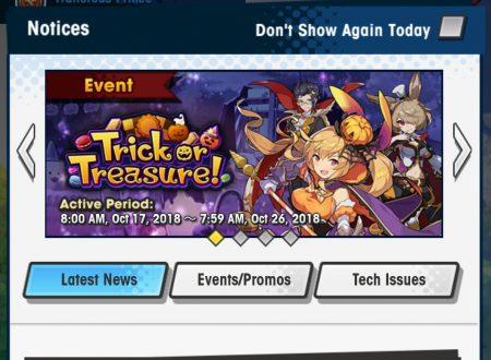 Dragalia Lost: svelato Trick or Treasure, l'evento di Halloween in arrivo il 17 ottobre