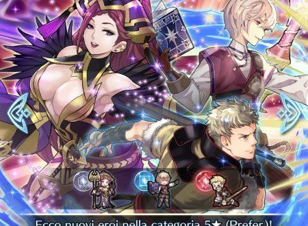 Fire Emblem Heroes: ora disponibili gli eroi speciali: Ritorno degli impavidi, assieme alla mappa appendice