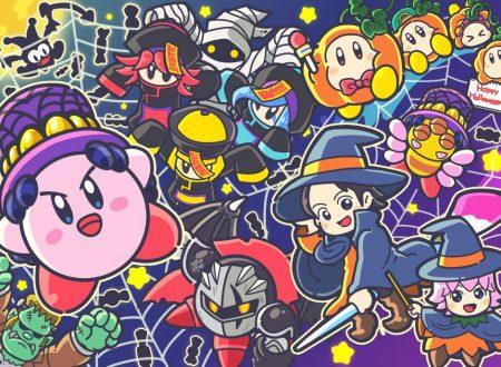L'account Twitter giapponese di Kirby pubblica un'artwork dedicato ad Halloween