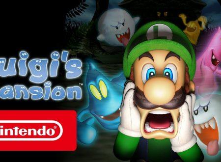 Luigi's Mansion: pubblicato il trailer di lancio italiano del titolo su Nintendo 3DS