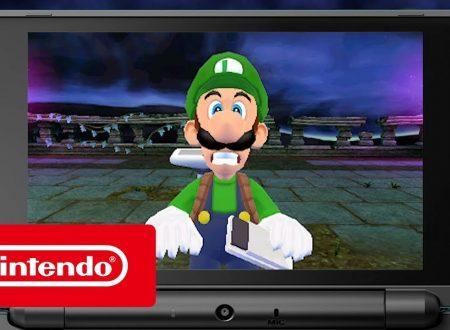 Luigi's Mansion: pubblicato un nuovo trailer non così spaventoso