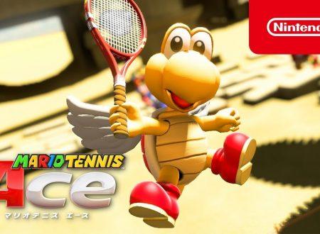 Mario Tennis Aces: pubblicato un nuovo trailer dedicato a Koopa Paratroopa