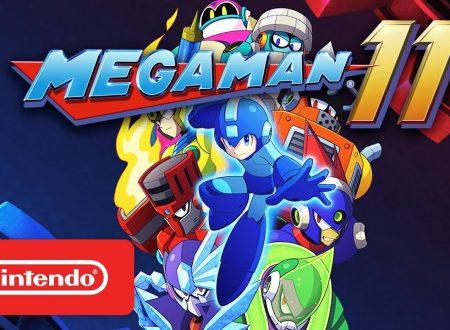 Mega Man 11: trailer di lancio, video unboxing per l'amiibo e la Collector's Edition del titolo