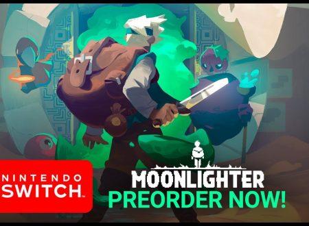 Moonlighter: il titolo è in arrivo il 5 novembre sull'eShop di Nintendo Switch