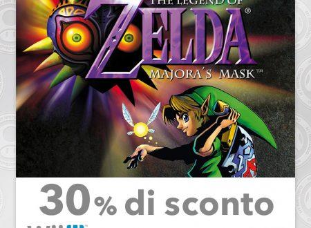 My Nintendo: sei nuovi titoli in sconto tra i quali Persona Q: Shadow of the Labyrinth, Super Mario RPG e Zelda: Majora's Mask