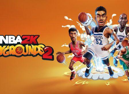 NBA 2K Playgrounds 2: pubblicato il trailer di lancio del titolo su Nintendo Switch