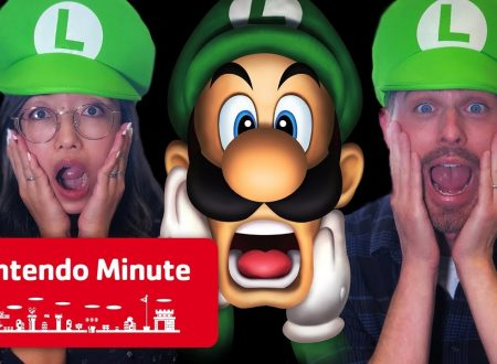 Nintendo Minute: Luigi's Mansion nella co-op mode in video con Kit, Krysta