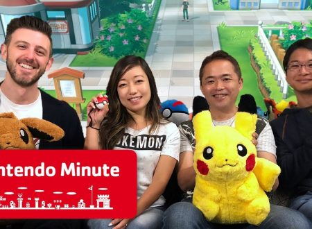 Nintendo Minute: Pokèmon Let's Go in video con Junichi Masuda e Kensaku Nabana