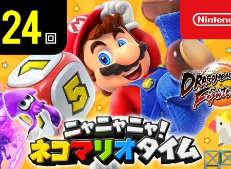 Nyannyan Neko Mario Time: pubblicato l'episodio 124 dello show felino con Mario e Peach