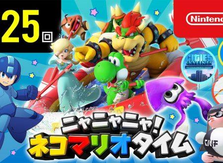Nyannyan Neko Mario Time: pubblicato l'episodio 125 dello show felino con Mario e Peach