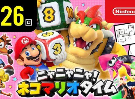 Nyannyan Neko Mario Time: pubblicato l'episodio 126 dello show felino con Mario e Peach