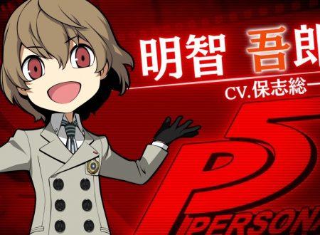 Persona Q2: New Cinema Labyrinth, pubblicato un trailer su Goro Akechi da Persona 5
