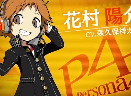 Persona Q2: New Cinema Labyrinth, pubblicato un trailer su Yosuke Hanamura da Persona 4