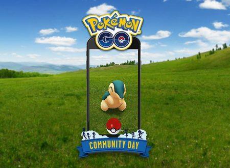Pokèmon GO: Cyndaquil sarà protagonista del Community Day del mese di novembre
