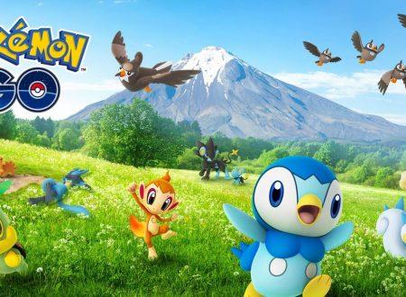 Pokèmon GO: i Pokèmon della regione di Sinnoh sono ora disponibili nel titolo mobile