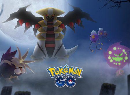 Pokèmon GO: rivelato l'evento di Halloween con le ricerche speciale e Pokèmon Spettro e Buio della regione di Sinnoh