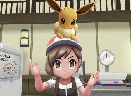 Pokèmon Let's GO, Pikachu & Eevee: mostrate delle nuove immagini sui titoli