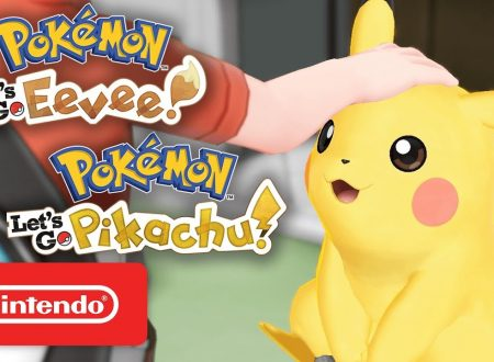 Pokèmon Let's GO, Pikachu & Eevee: pubblicato un trailer promozionale per i due titoli
