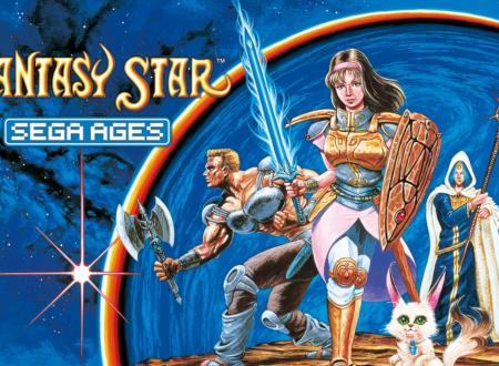 SEGA Ages: pubblicati dei nuovi screeenshots dedicati a Phantasy Star