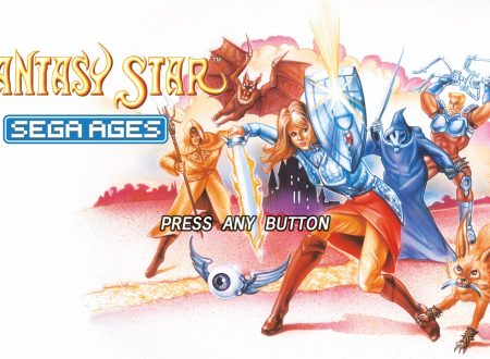 SEGA Ages: uno sguardo in video gameplay al classico Phantasy Star