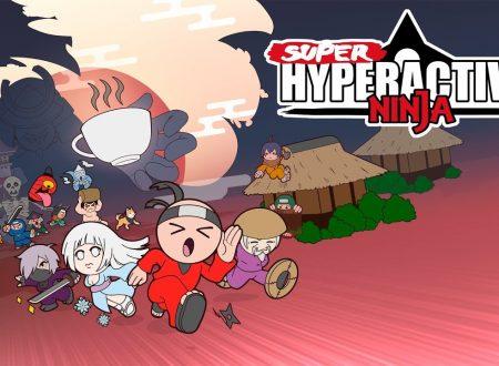 SuperHyperactiveNinja: il titolo è in arrivo il 25 ottobre sull'eShop di Nintendo Switch