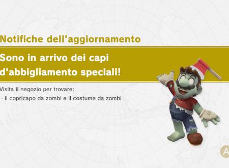 Super Mario Odyssey: il copricapo e il costume da zombi sono ora disponibili nel titolo