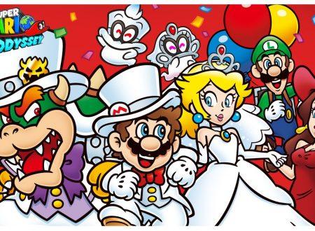 Super Mario Odyssey: un artwork e una danza per il primo anniversario del titolo