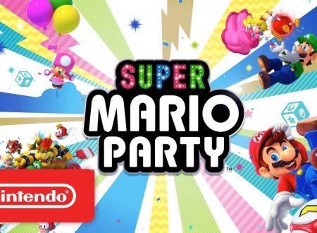 Super Mario Party: pubblicato il trailer di lancio del titolo su Nintendo Switch