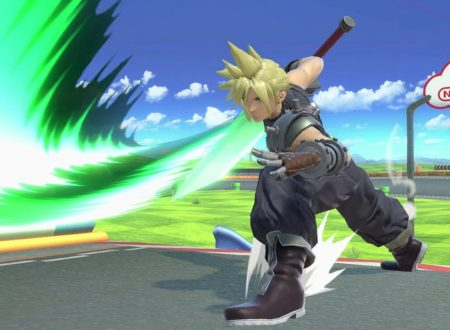 Super Smash Bros. Ultimate: novità del 18 ottobre, Cloud Strife, il protagonista di FINAL FANTASY VII