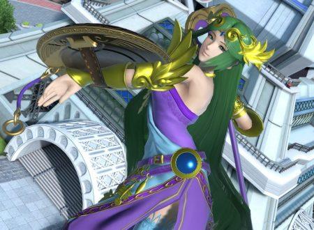 Super Smash Bros. Ultimate: novità del 19 ottobre, Palutena, il ritorno della Dea della Luce