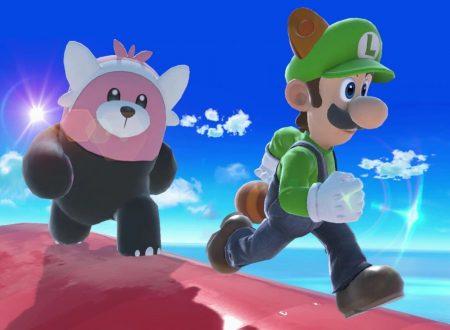 Super Smash Bros. Ultimate: novità del 22 ottobre, Luigi e il suo nuovo Poltergust