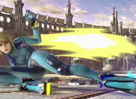 Super Smash Bros. Ultimate: novità del 29 ottobre, Samus tuta Zero, la bella cacciatrice di taglie