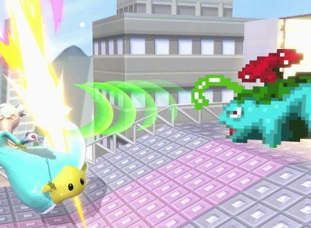 Super Smash Bros. Ultimate: novità del 3 ottobre (#2), lo scenario di Zafferanopoli da Pokémon Versione Rossa e Blu