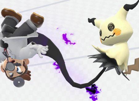 Super Smash Bros. Ultimate: novità del 5 ottobre, Mimikyu, il Pokèmon fantoccio