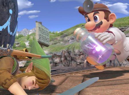 Super Smash Bros. Ultimate: novità del 9 ottobre, Dr. Mario e la sua medicina, le botte