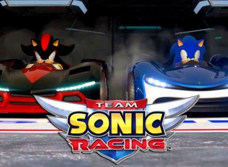 Team Sonic Racing: annunciato il rinvio del titolo rinviata al 21 maggio 2019