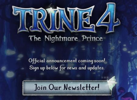 Trine 4: il titolo annunciato ufficialmente per l'arrivo sull'eShop di Nintendo Switch