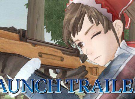 Valkyria Chronicles: pubblicato il trailer di lancio del titolo su Nintendo Switch