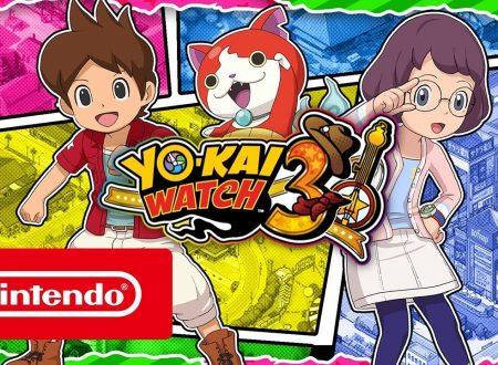 Yo-kai Watch 3: il titolo è in arrivo il 7 dicembre sui Nintendo 3DS europei