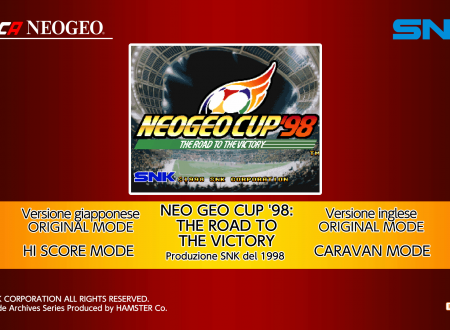 ACA NEOGEO Neo Geo Cup '98: The Road to the Victory, uno sguardo in video al titolo dai Nintendo Switch europei