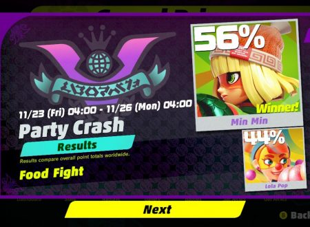 ARMS: Min Min è la vincitrice del primo Round del torneo Party Crash Bash