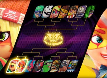 ARMS: rivelato il Party Crash Bash, lo speciale torneo che vedrà nel 1 Round: Min Min vs. Lola Pop